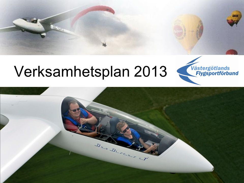 Verksamhetsplan 2013