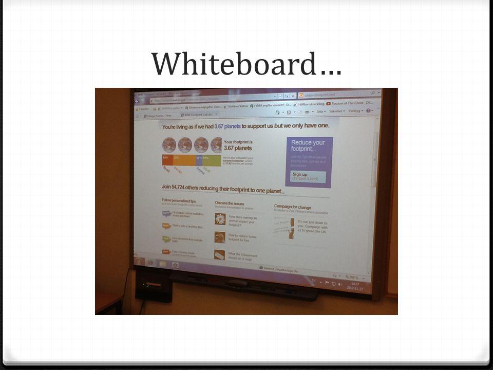 Whiteboard…