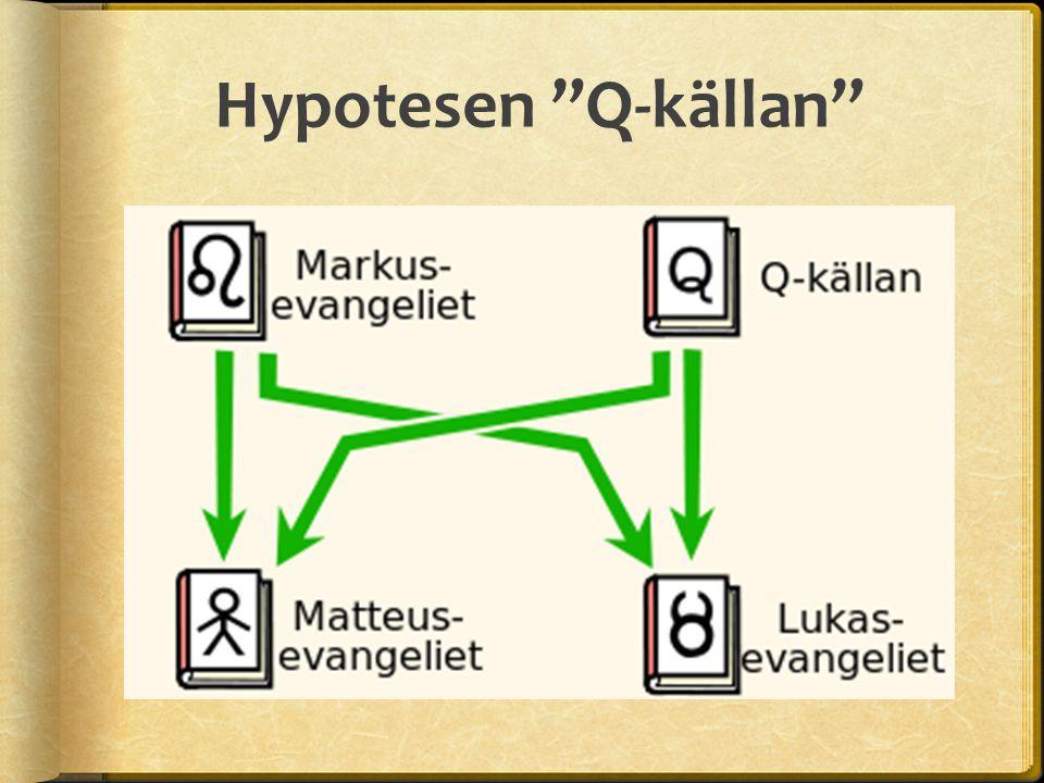 "Hypotesen ""Q-källan"""