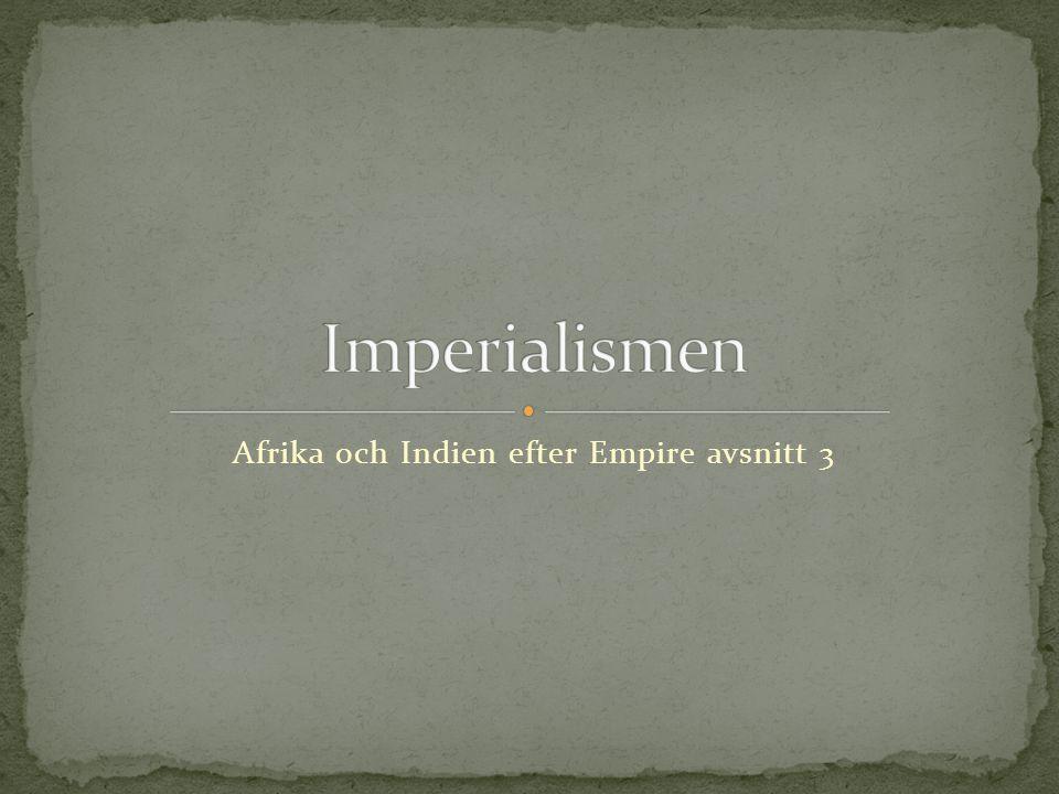 Afrika och Indien efter Empire avsnitt 3