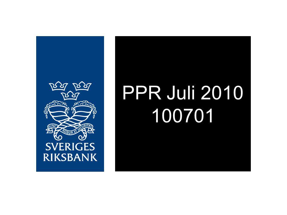 Diagram 1.01.Reporänta med osäkerhetsintervall Procent, kvartalsmedelvärden Källa: Riksbanken Anm.