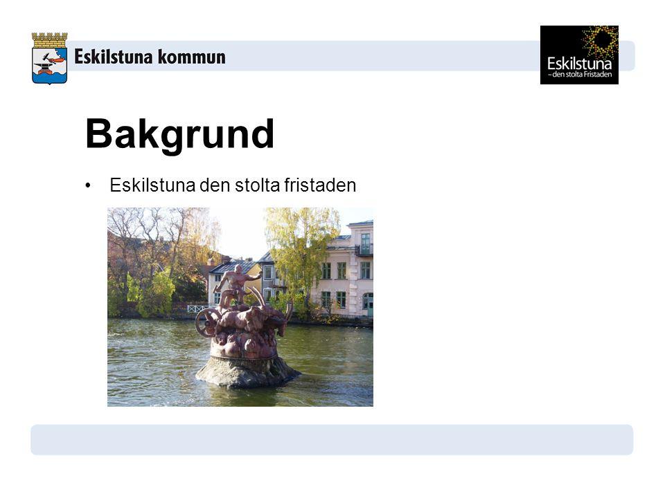 Eskilstuna den stolta fristaden Bakgrund