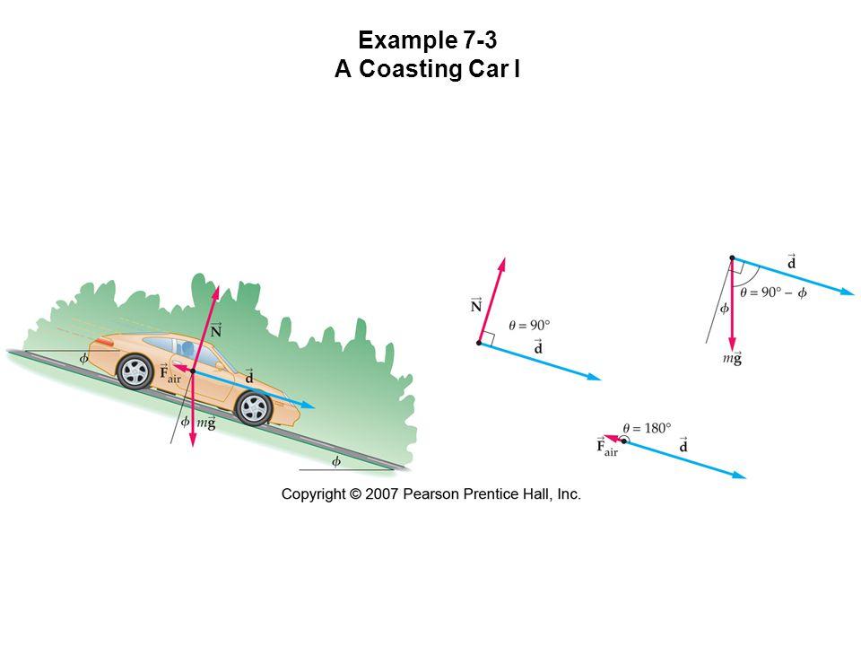 Example 7-3 A Coasting Car I