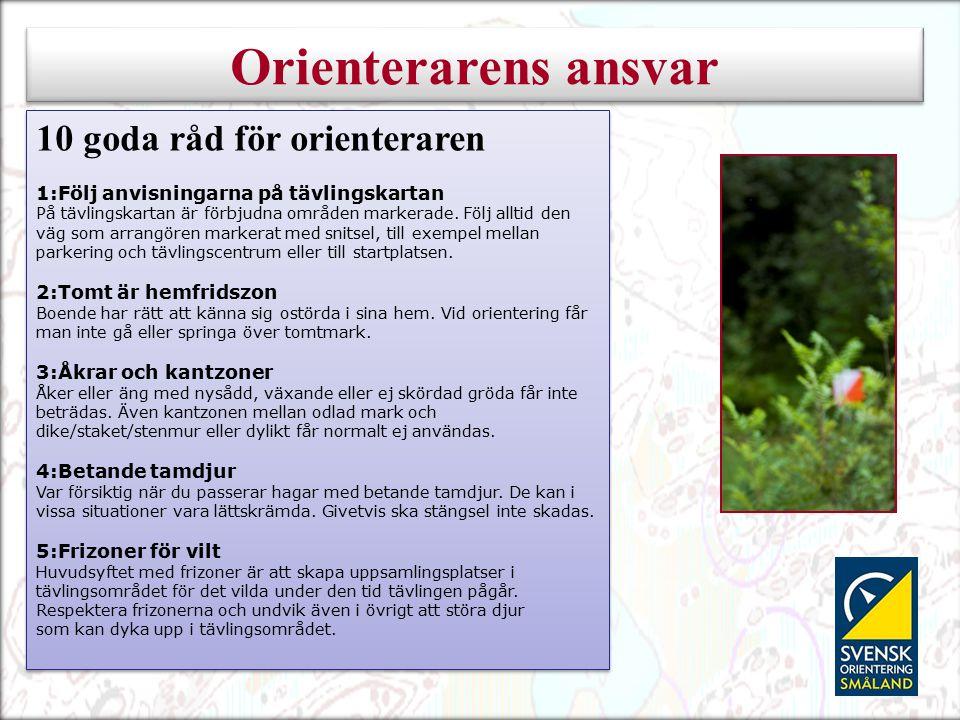 6:Skogsplantering Om det är risk för att skada mark eller växtlighet är det inte tillåtet att ta sig fram där.