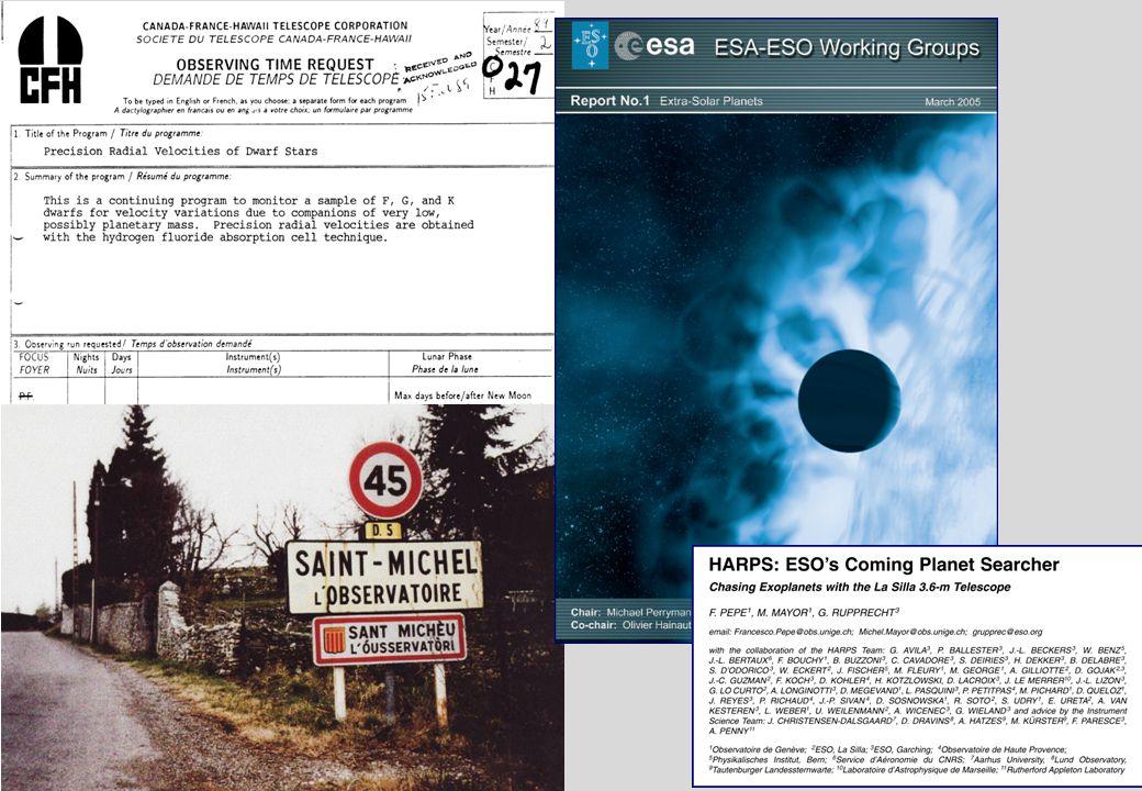 Projekt och artiklar om möjligt liv i rymden
