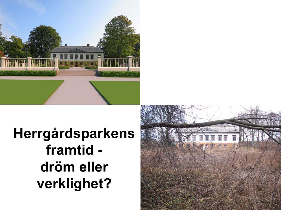 Herrgårdsparkens framtid - dröm eller verklighet