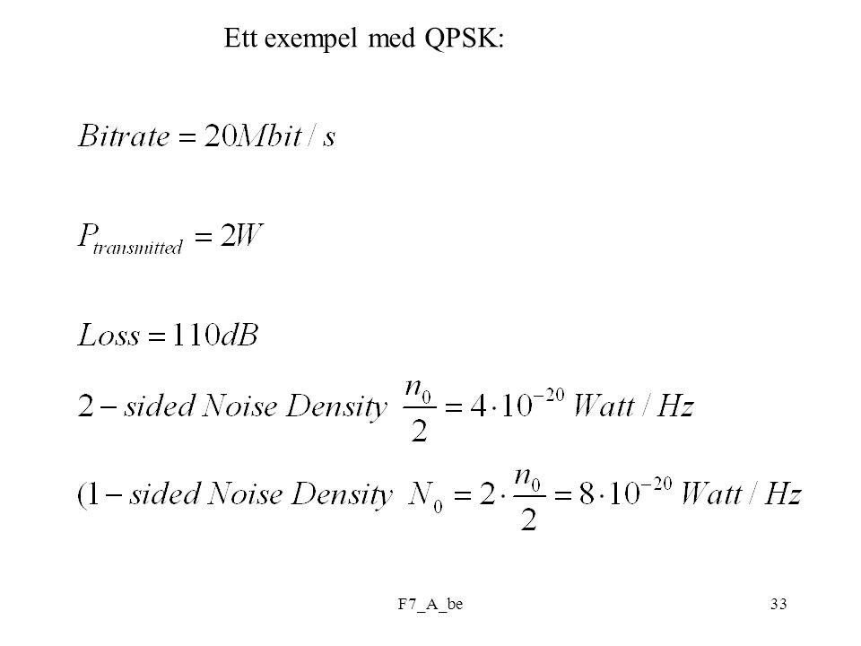 F7_A_be33 Ett exempel med QPSK: