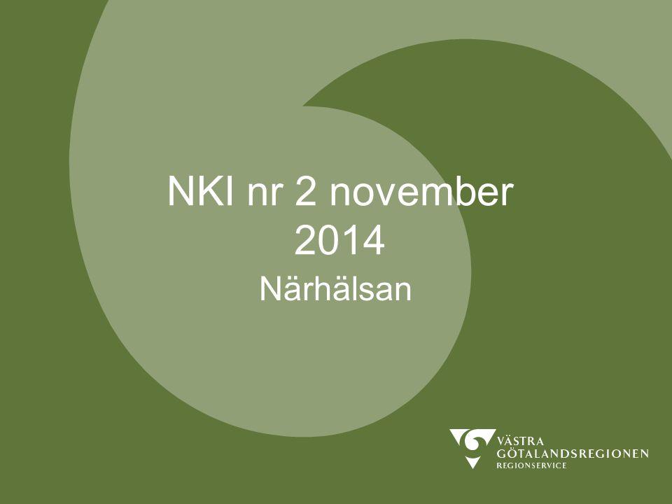 NKI nr 2 november 2014 Närhälsan