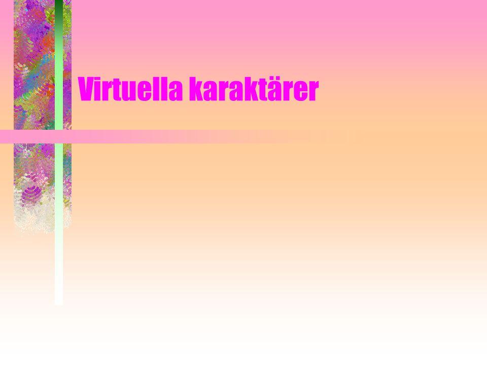 Virtuella karaktärer