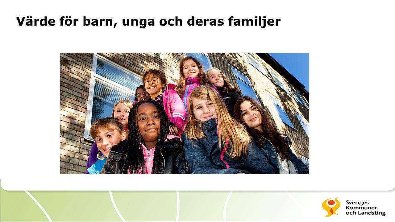 Värde för barn, unga och deras familjer