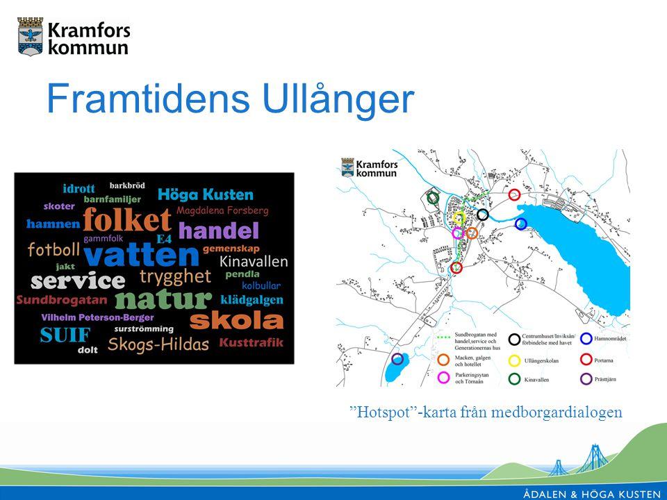 Framtidens Ullånger Hotspot -karta från medborgardialogen