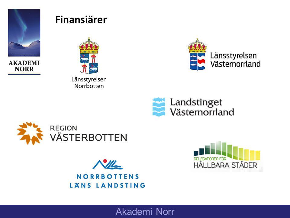 Finansiärer Akademi Norr