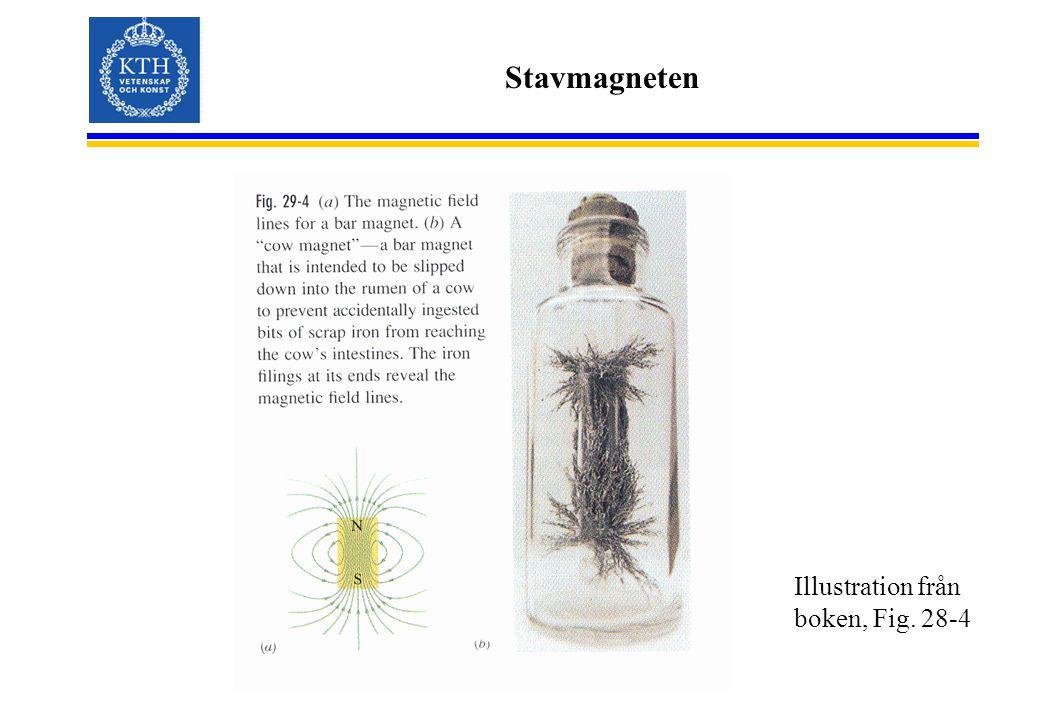 Stavmagneten Illustration från boken, Fig. 28-4