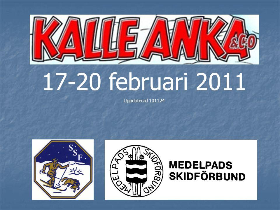 Uttagningsregler I årets Kalle Anka-final får vi anmäla så många åkare som vi önskar.