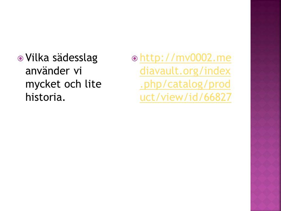  Vilka sädesslag använder vi mycket och lite historia.  http://mv0002.me diavault.org/index.php/catalog/prod uct/view/id/66827 http://mv0002.me diav