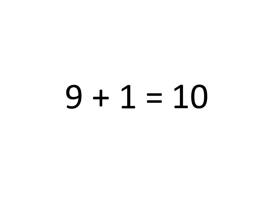 1 + 3 = 4