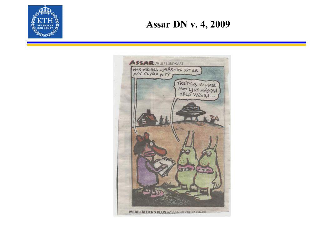 Assar DN v. 4, 2009