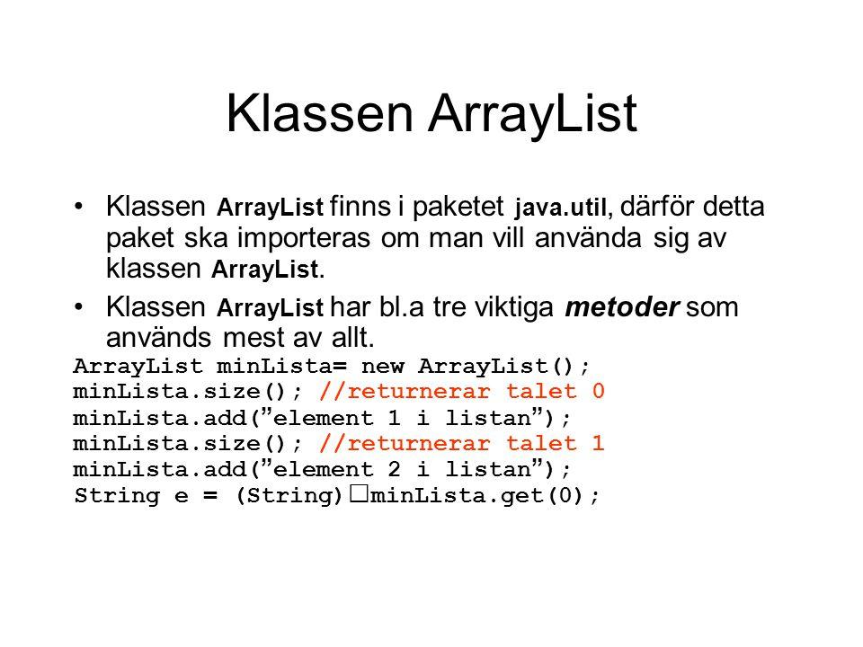 String[] args Är en array av String som måste finns i main för att programmet ska kunna köras.