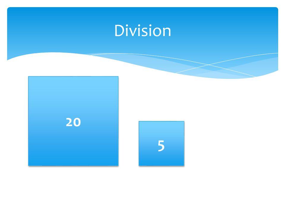 Division 20 5 5