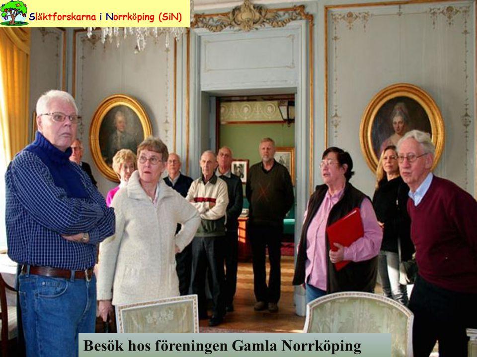 Besök hos föreningen Gamla Norrköping