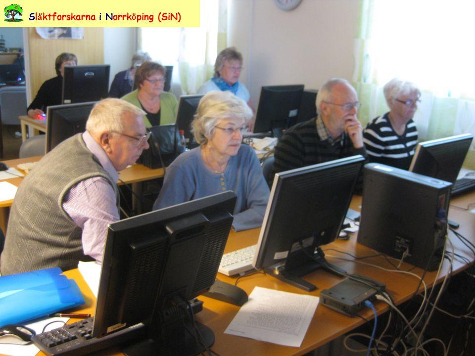 Besök hos Vånga Hembygdsförening, Vånga Sl ä ktforskarna i Norrk ö ping (SiN)