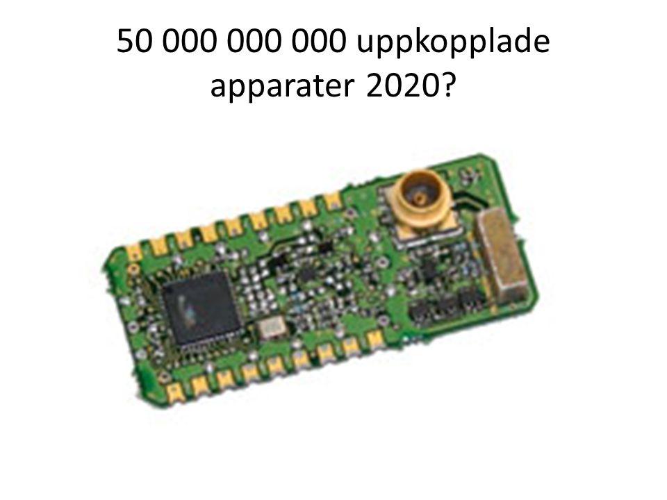 50 000 000 000 uppkopplade apparater 2020?