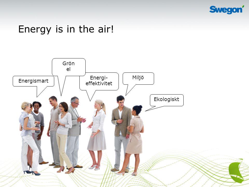 3Energy is in the air.…men vad handlar det om. Hur länge räcker våra energikällor.