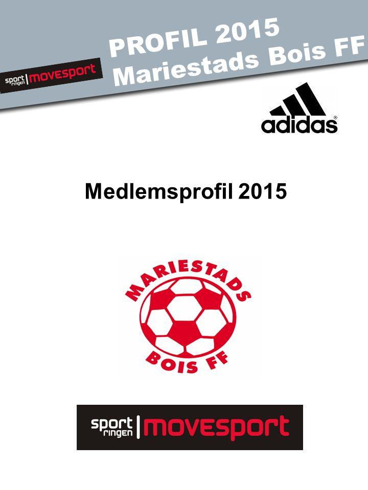 PROFIL 2015 Mariestads Bois FF Medlemsprofil 2015