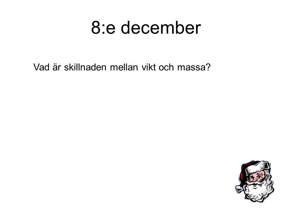 9:e december