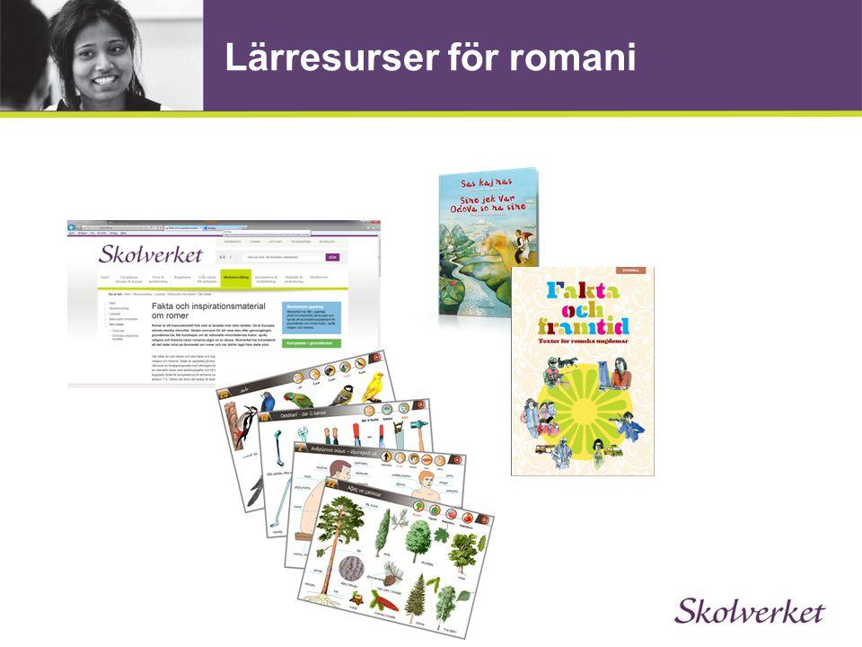 Lärresurser för romani