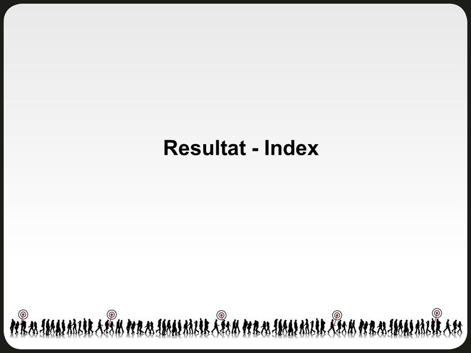 Resultat - Index