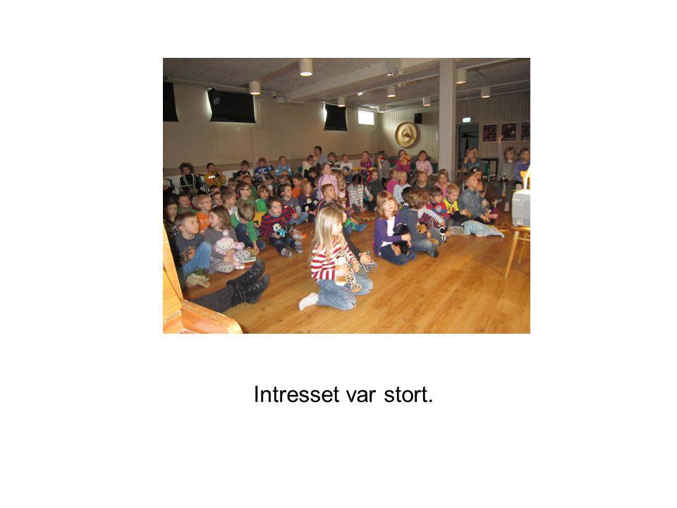 Intresset var stort.
