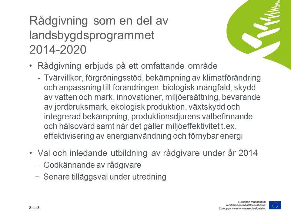 I programmet för utveckling av landsbygden i Fastlandsfinland 2014-2020 EKOLOGISK PRODUKTION