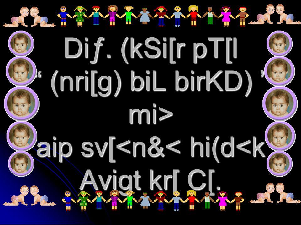 Diƒ. (kSi[r pT[l (nri[g) biL birKD) mi> aip sv[ aip sv[<n&< hi(d<k Avigt kr[ C[.