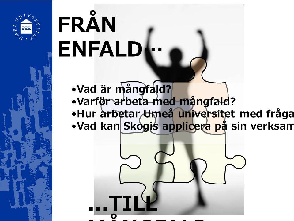 Ht 2006 För vem är Umeå universitet anpassat idag.