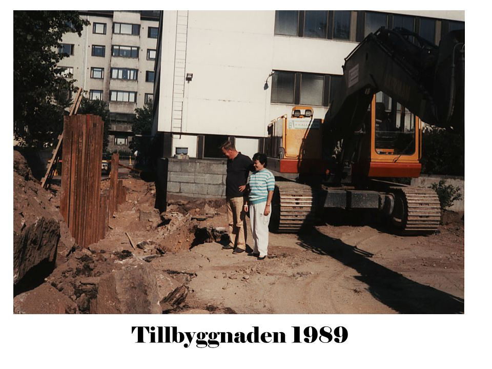 Tillbyggnaden 1989