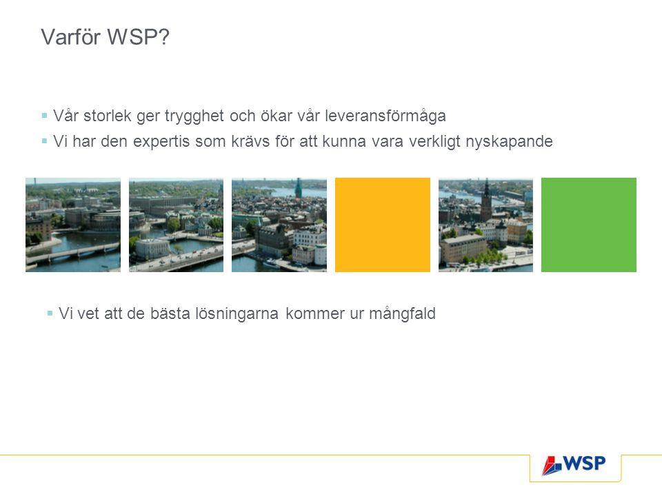 Varför WSP.