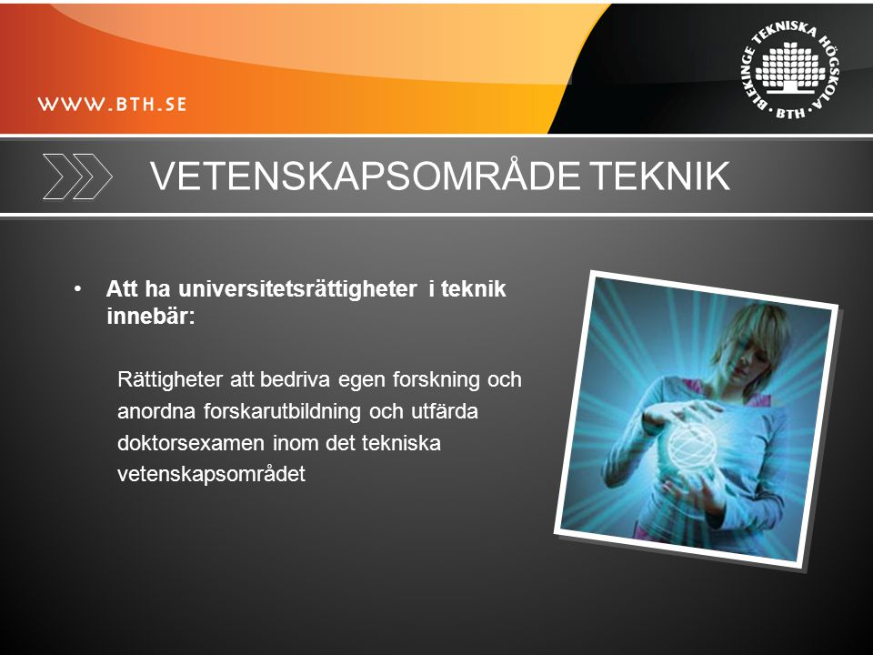 PROFILOMRÅDEN Tillämpad informationsteknik (IT) Dvs.