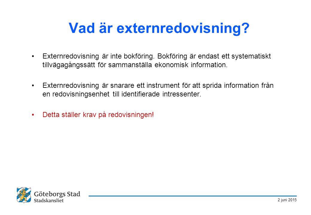 2 juni 2015 Vad är externredovisning? Externredovisning är inte bokföring. Bokföring är endast ett systematiskt tillvägagångssätt för sammanställa eko