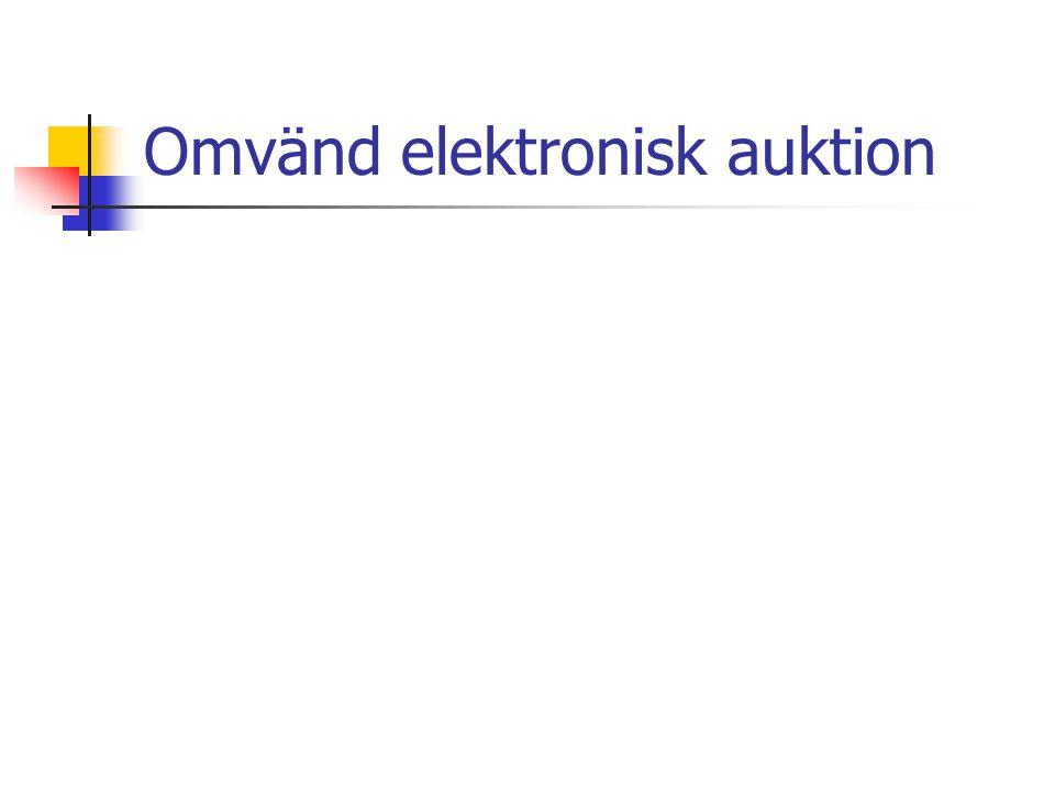 Omvänd elektronisk auktion