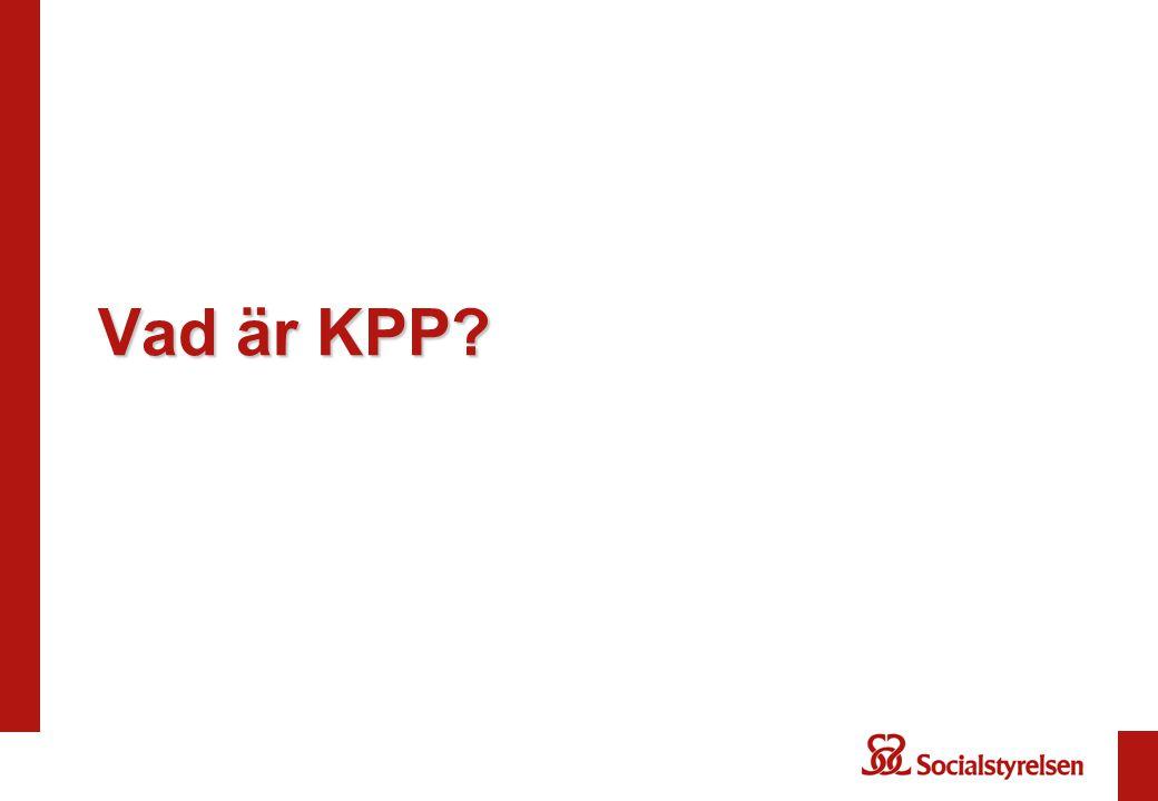 Vad är KPP?