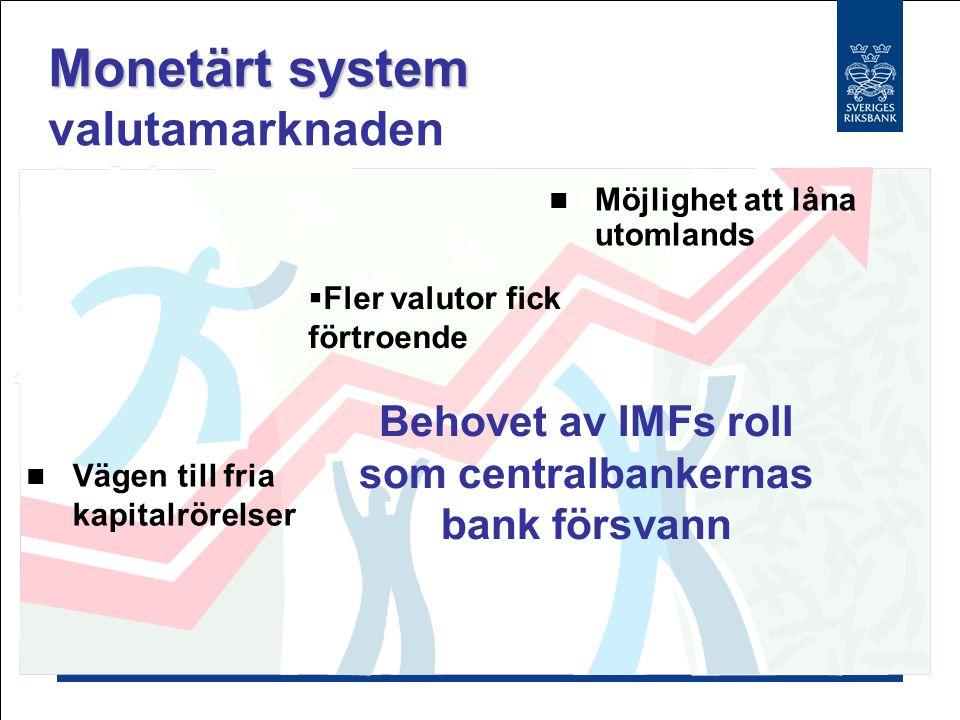 Sparfördelning Sparfördelning i-länder och u-länder Avreglering G10 nyckeln till lån till övriga världen Omfördelning av sparande även det under förändring