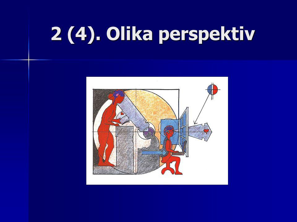 2 (4). Olika perspektiv