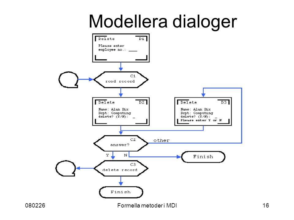 080226Formella metoder i MDI16 Modellera dialoger