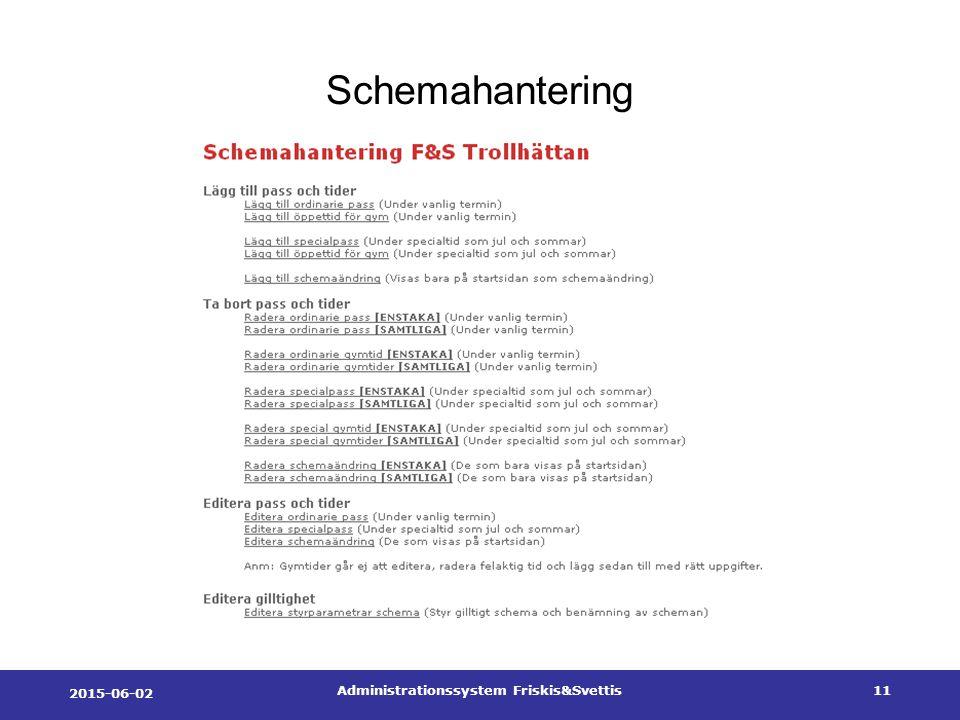 2015-06-02 Administrationssystem Friskis&Svettis11 Schemahantering