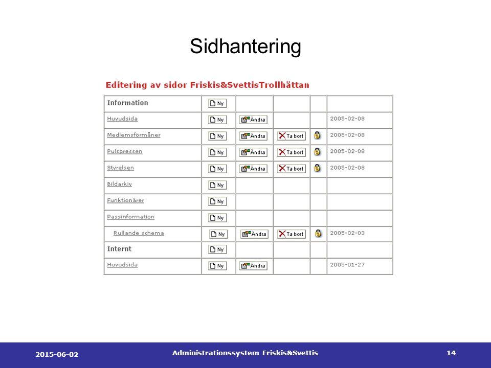 2015-06-02 Administrationssystem Friskis&Svettis14 Sidhantering
