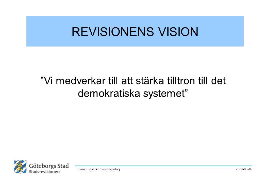 2004-06-16Kommunal redovisningsdag Göteborgs Stad i praktiken 21 SDN, ca 20 fackförvaltningar ca 25 bolag, 3 kommunalförbund