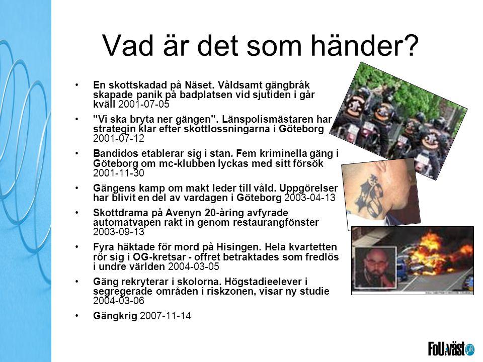 Aktörer Organisera (fler) handlingsinriktade konstellationer Engagera i högre grad dem med särskilt ansvar för frågorna som skol- och socialchefer Koppla bättre samman med social resursförvaltning, Tryggare mänskligare Göteborg och …