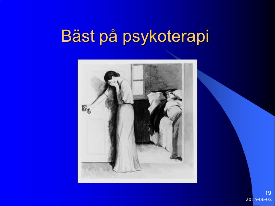 2015-06-02 19 Bäst på psykoterapi Bäst på psykoterapi