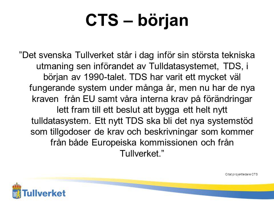 CTS – Efter Införande Uppföljning